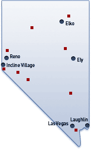 Nevada Image Map