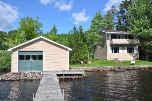 SOLD: Vintage Cottage on Chateaugay Lake